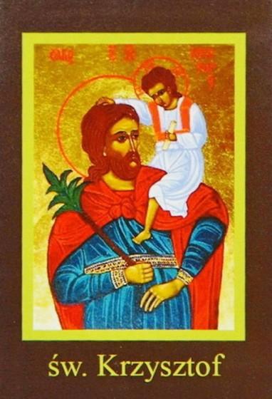 Ikona Twojego Patrona - św. Krzysztof