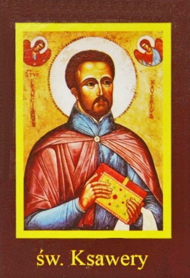 Ikona Twojego Patrona - św. Ksawery