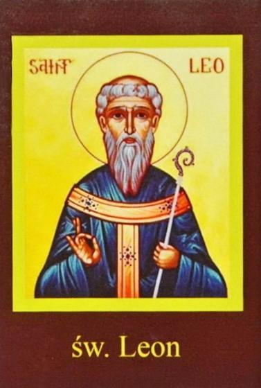 Ikona Twojego Patrona - św. Leon