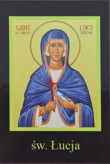 Ikona Twojego Patrona - św. Łucja