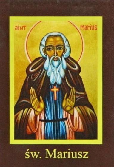 Ikona Twojego Patrona - św. Mariusz