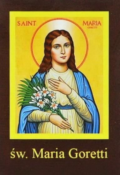 Ikona Twojego Patrona - św. Maria Goretti