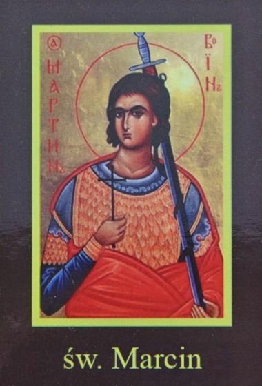 Ikona Twojego Patrona - św. Marcin