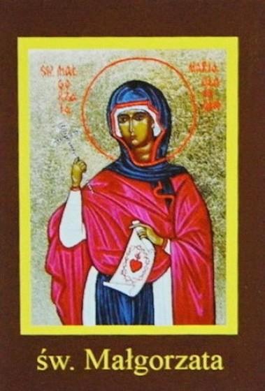 Ikona Twojego Patrona - św. Małgorzata