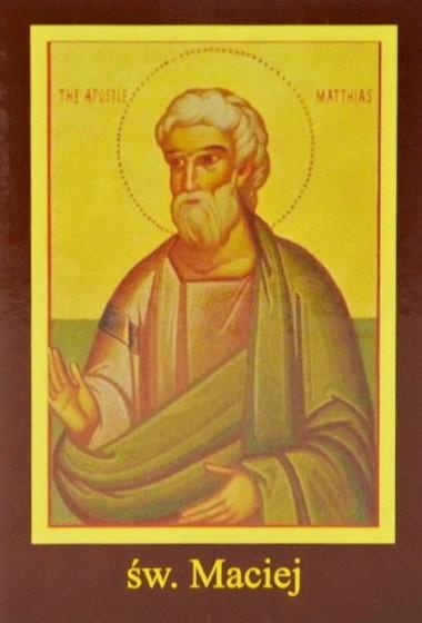 Ikona Twojego Patrona - św. Maciej Apostoł