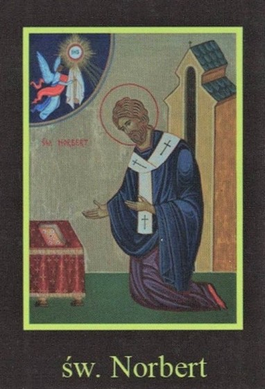Ikona Twojego Patrona - św. Norbert
