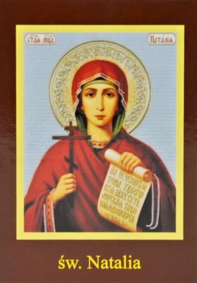 Ikona Twojego Patrona - św. Natalia