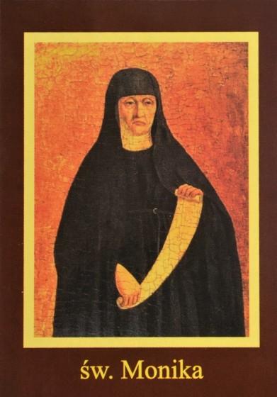 Ikona Twojego Patrona - św. Monika