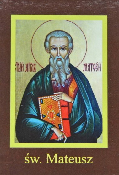 Ikona Twojego Patrona - św. Mateusz Ewangelista