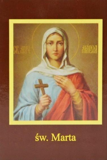 Ikona Twojego Patrona - św. Marta