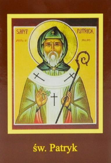 Ikona Twojego Patrona - św. Patryk