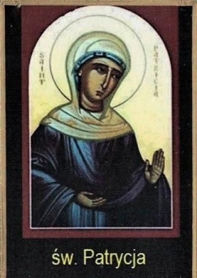 Ikona Twojego Patrona - św. Patrycja z Nikomedii