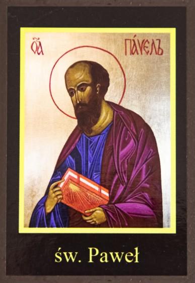Ikona Twojego Patrona - św. Paweł Apostoł