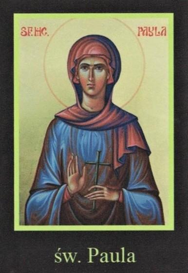 Ikona Twojego Patrona - św. Paula