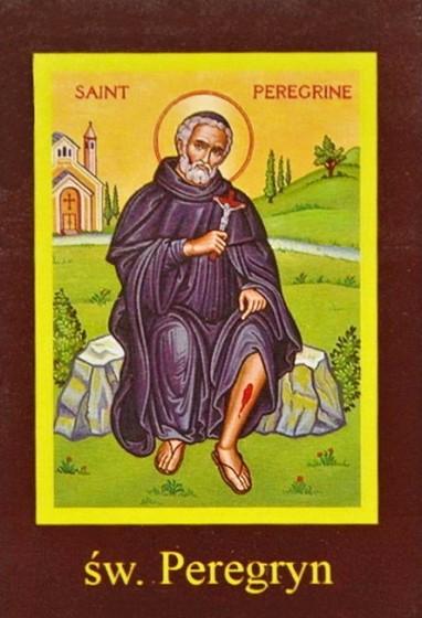 Ikona Twojego Patrona - św. Peregryn