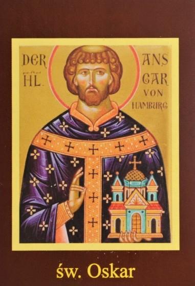 Ikona Twojego Patrona - św. Oskar
