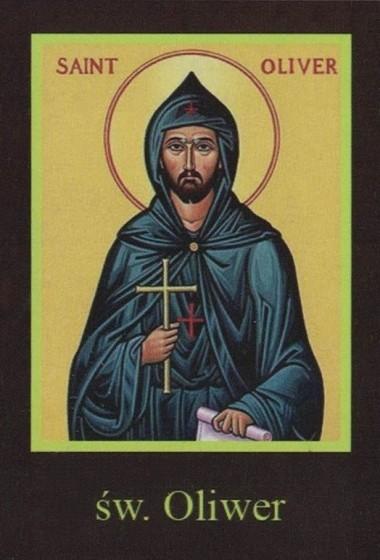 Ikona Twojego Patrona - św. Oliwer