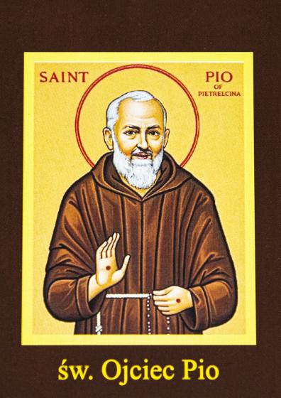 Ikona Twojego Patrona - św. Ojciec Pio
