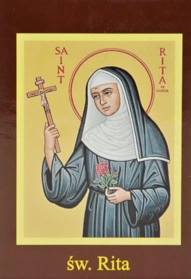 Ikona Twojego Patrona - św. Rita