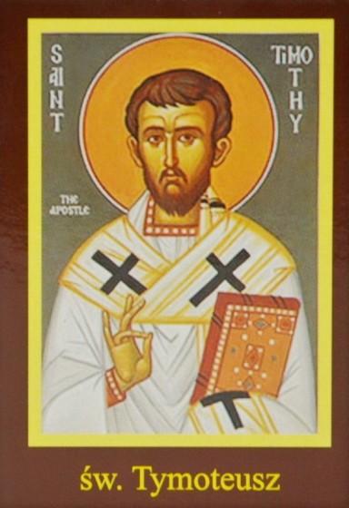 Ikona Twojego Patrona - św. Tymoteusz