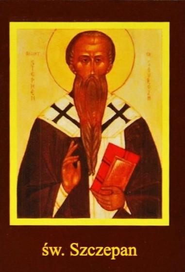 Ikona Twojego Patrona - św. Szczepan