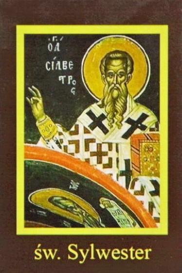 Ikona Twojego Patrona - św. Sylwester