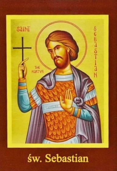 Ikona Twojego Patrona - św. Sebastian