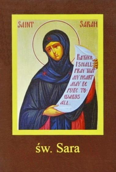 Ikona Twojego Patrona - św. Sara