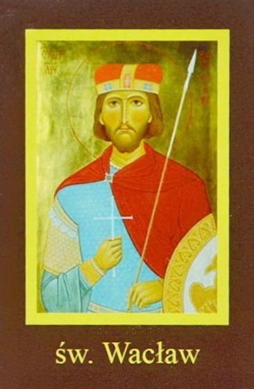 Ikona Twojego Patrona - św. Wacław