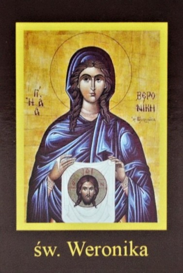 Ikona Twojego Patrona - św. Weronika
