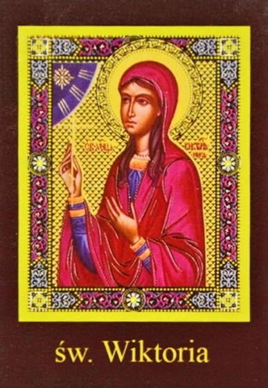 Ikona Twojego Patrona - św. Wiktoria