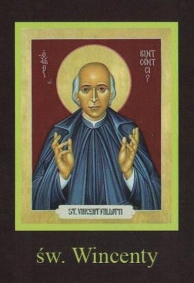 Ikona Twojego Patrona - św. Wincenty
