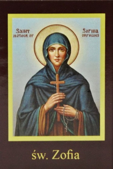 Ikona Twojego Patrona - św. Zofia