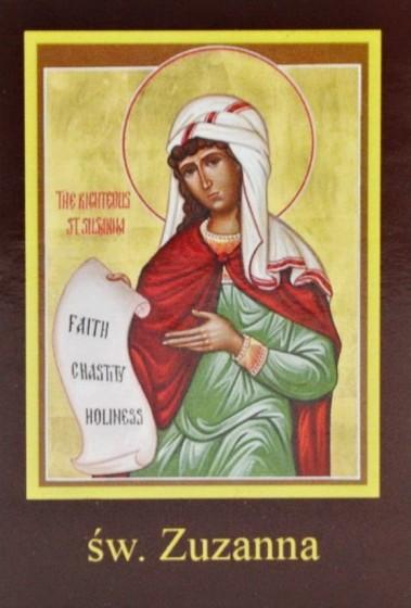 Ikona Twojego Patrona - św. Zuzanna