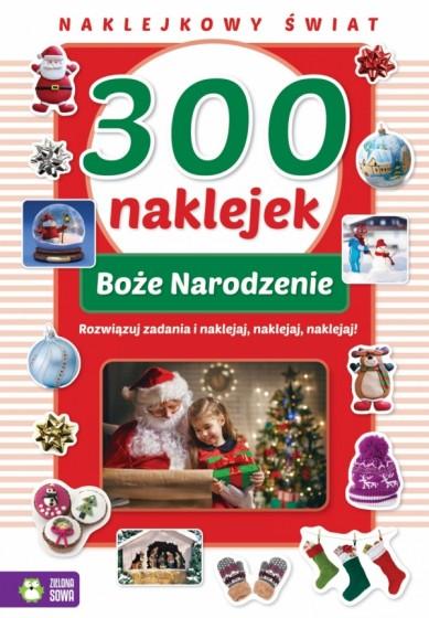 300 naklejek. Boże Narodzenie