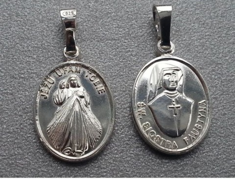 Medalik św. Faustyna MM89