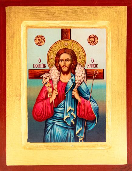 Ikona Dobry Pasterz duża