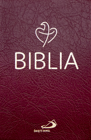 Biblia Tabor bordowa PCV