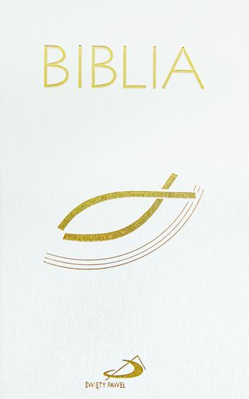 Biblia z kolorową wkładką paginatory
