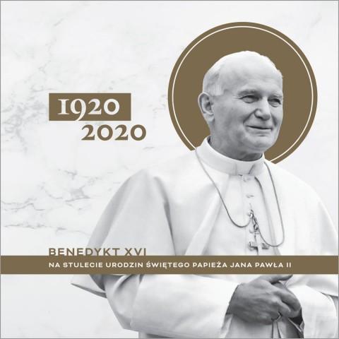 Benedykt XVI na stulecie urodzin świętego papieża Jana Pawła II