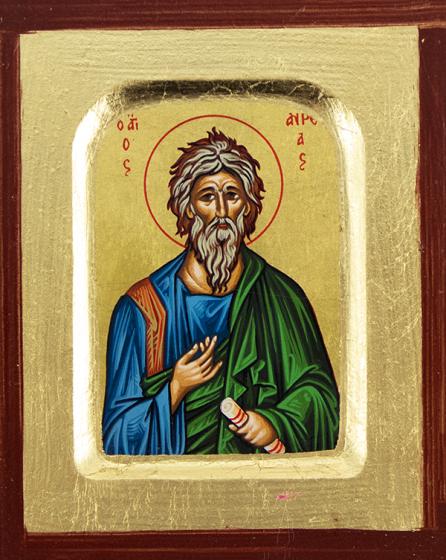 Ikona Święty Andrzej bardzo mała