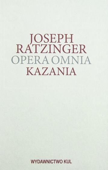 Kazania Opera Omnia Tom XIV/1
