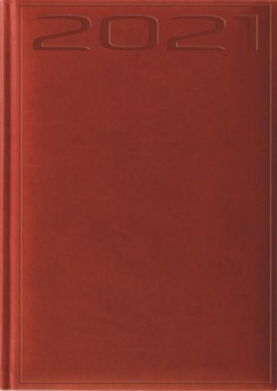 Terminarz A5 Print czerwony
