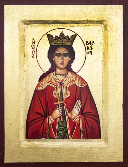 Ikona Święta Barbara