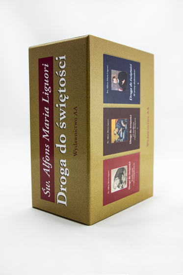 Droga do świętości Komplet 3 książek w etui