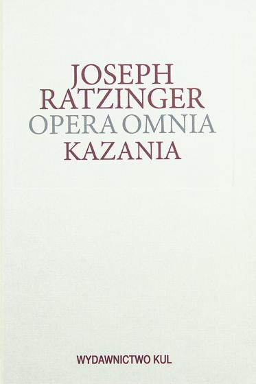 Kazania Opera omnia Tom XIV/3