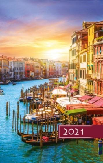 Terminarz B6 Kolorowy - Wenecja