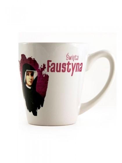 Kubek - Święta Faustyna