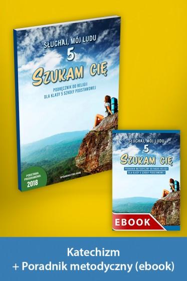 Szukam cię Pakiet z ebookiem dla katechetów do klasy 5 szkoły podstawowej