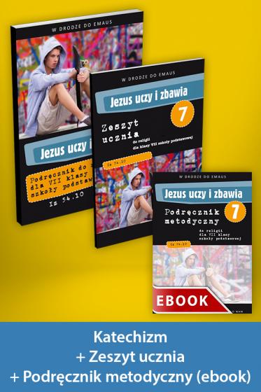Jezus uczy i zbawia Pakiet z ebookiem dla katechetów do klasy 7 szkoły podstawowej